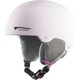 Alpina Zupo Ski Helmet Kids, light/rose matt